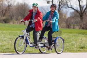 TRICYCLE TANDEM THERAPEUTIQUE CAPITAINE DUO