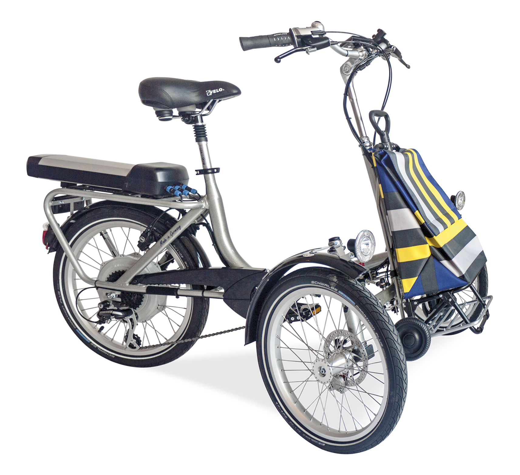 TRICYCLE PLIABLE SHOPI