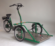 Tricycle ANDROS Transporteur fauteuil roulant