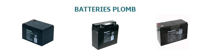 BATTERIES GEL-PLOMB
